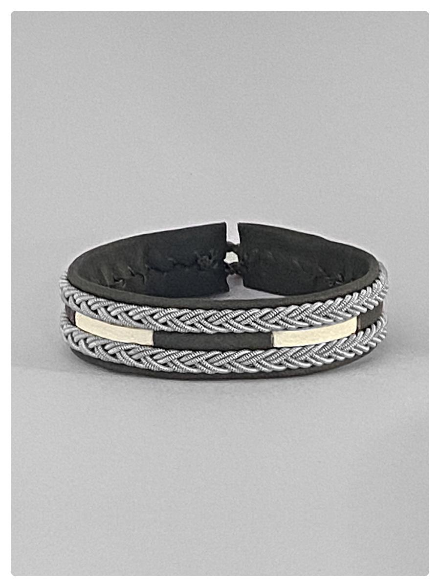Sami Bracelet Bea Grey/White-1