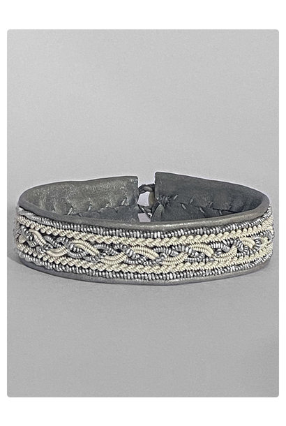 Sami Bracelet Dia Grey/Cream