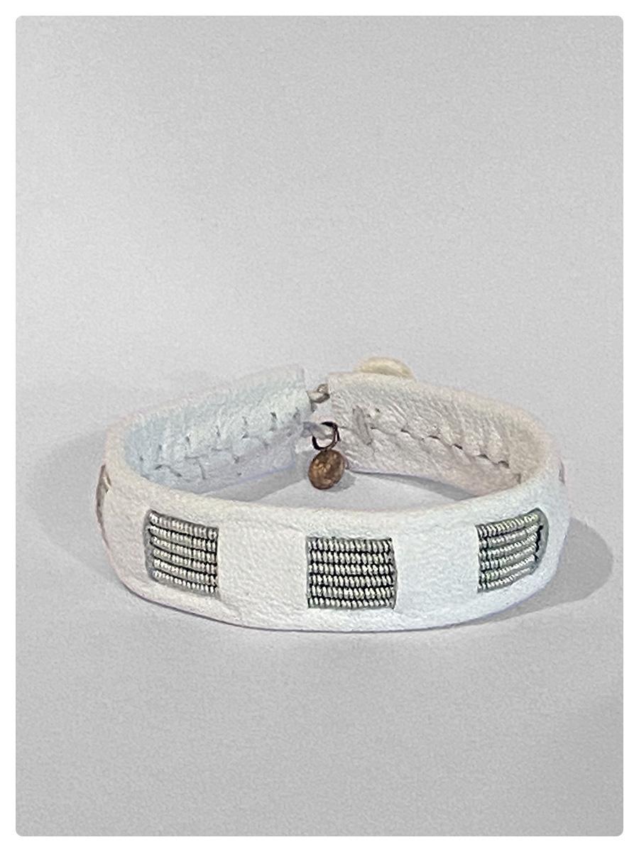 Sami Bracelet Celeste White-1