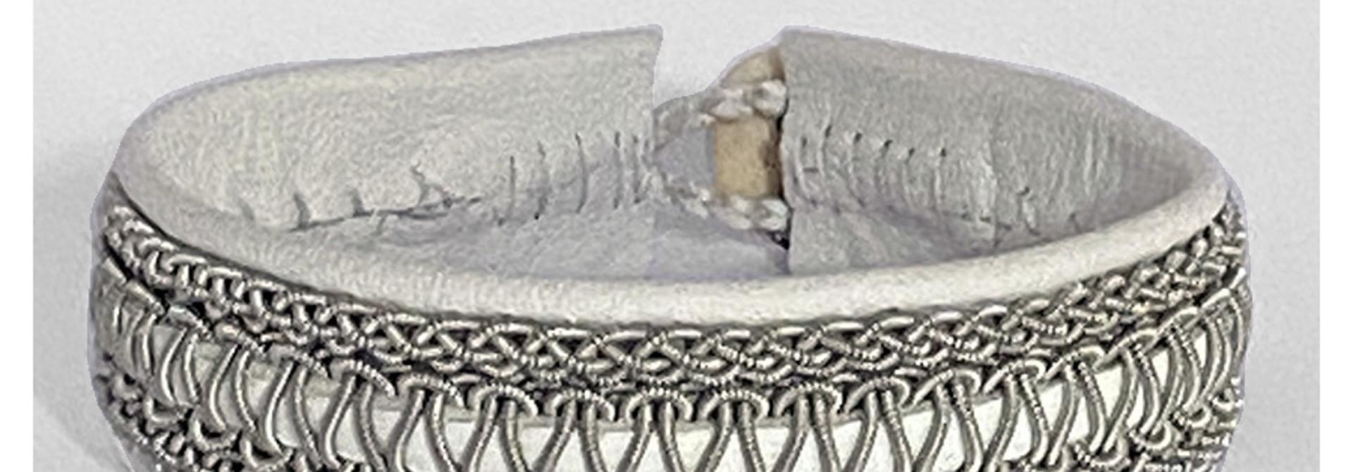 Sami Bracelet Faja White