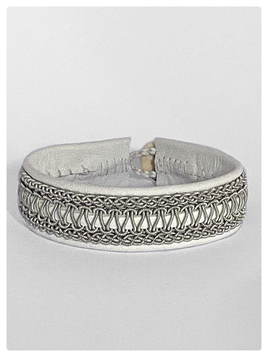 Sami Bracelet Faja White-1