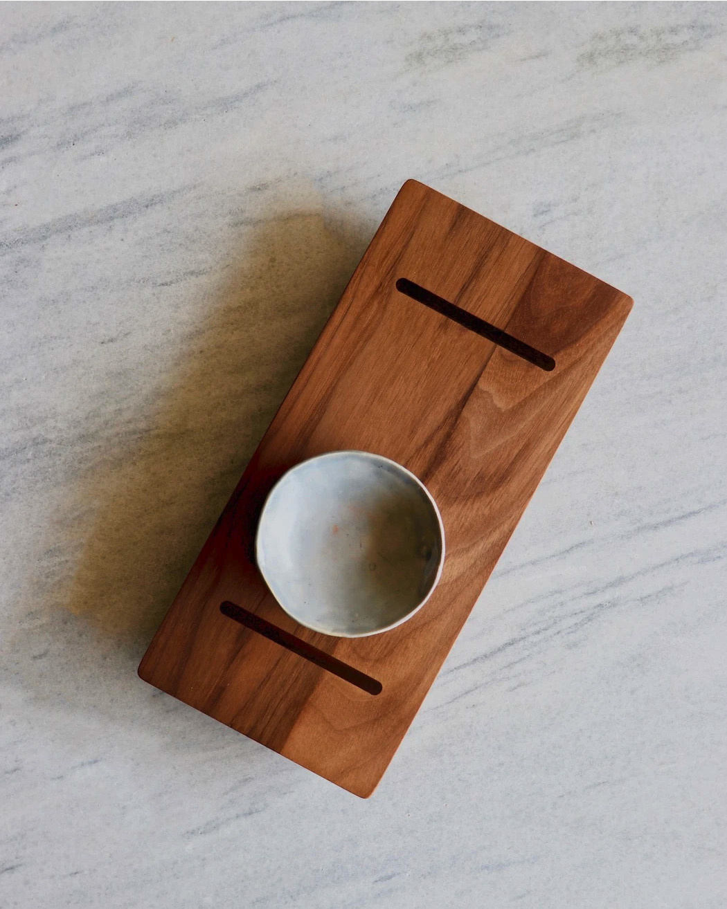 Serving Board Sm - Walnut-1
