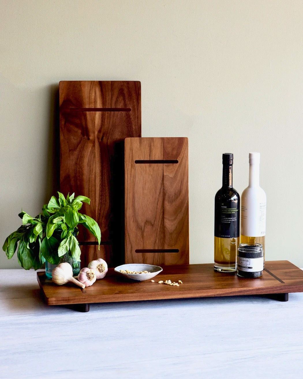 Serving Board Sm - Walnut-3