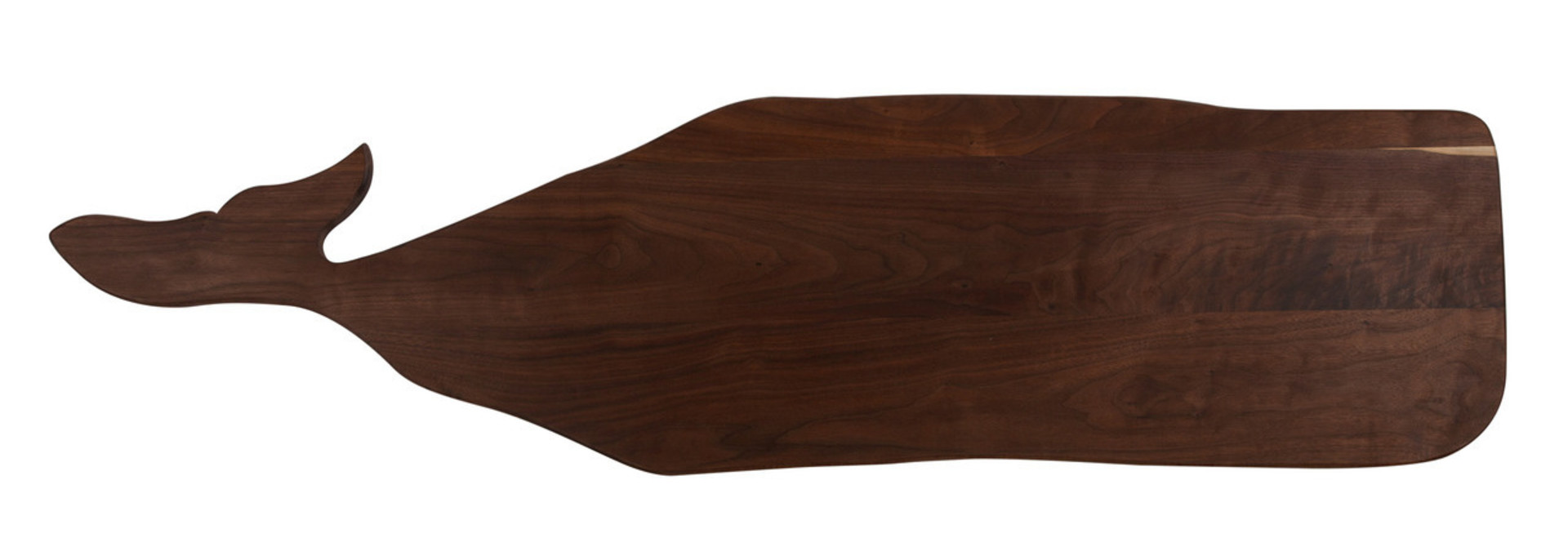 Great Whale Serving Board Lg - Walnut
