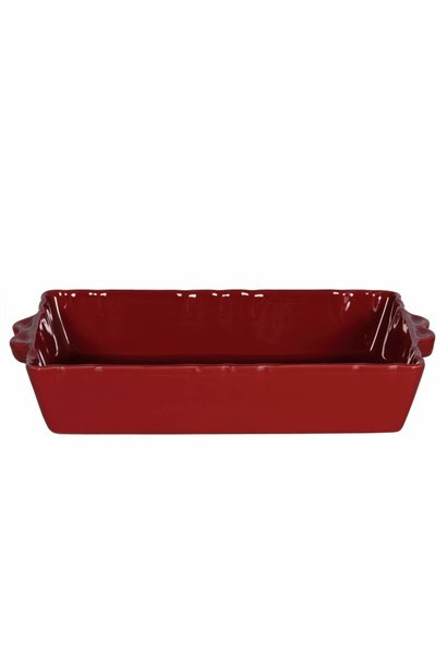 Feston Oven Dish - Red