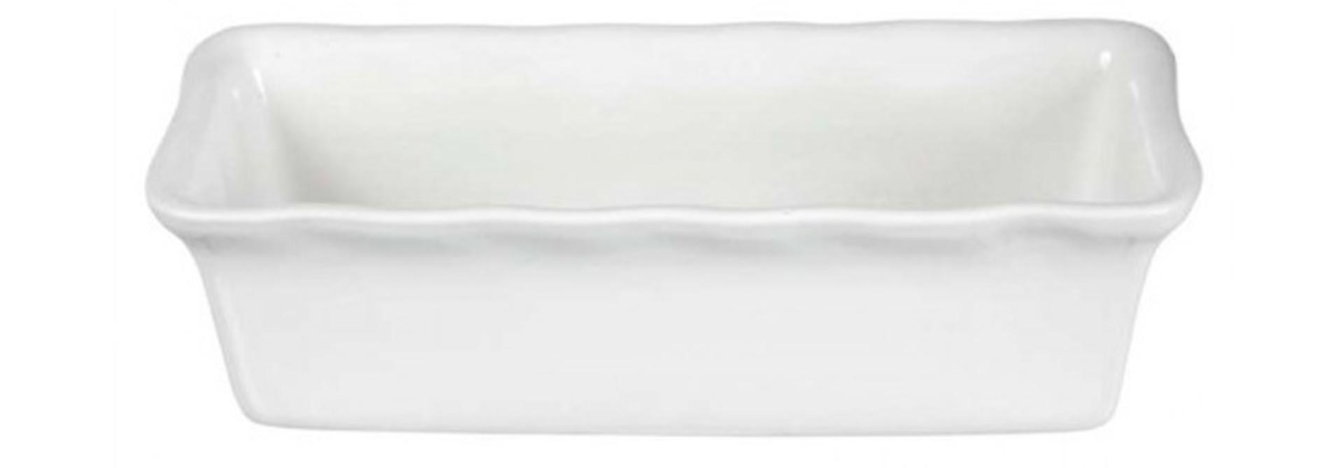 Lea Cake/Loaf Dish - White