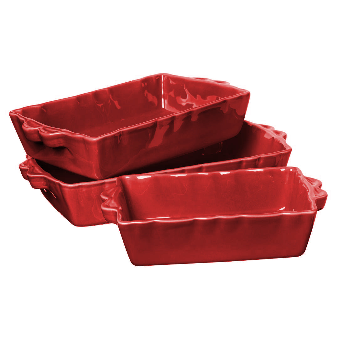 Feston Oven Dish - Red-2