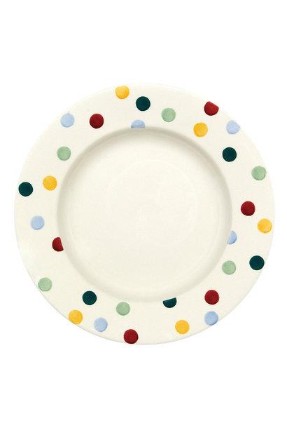 Dinner Plate - Polka Dot