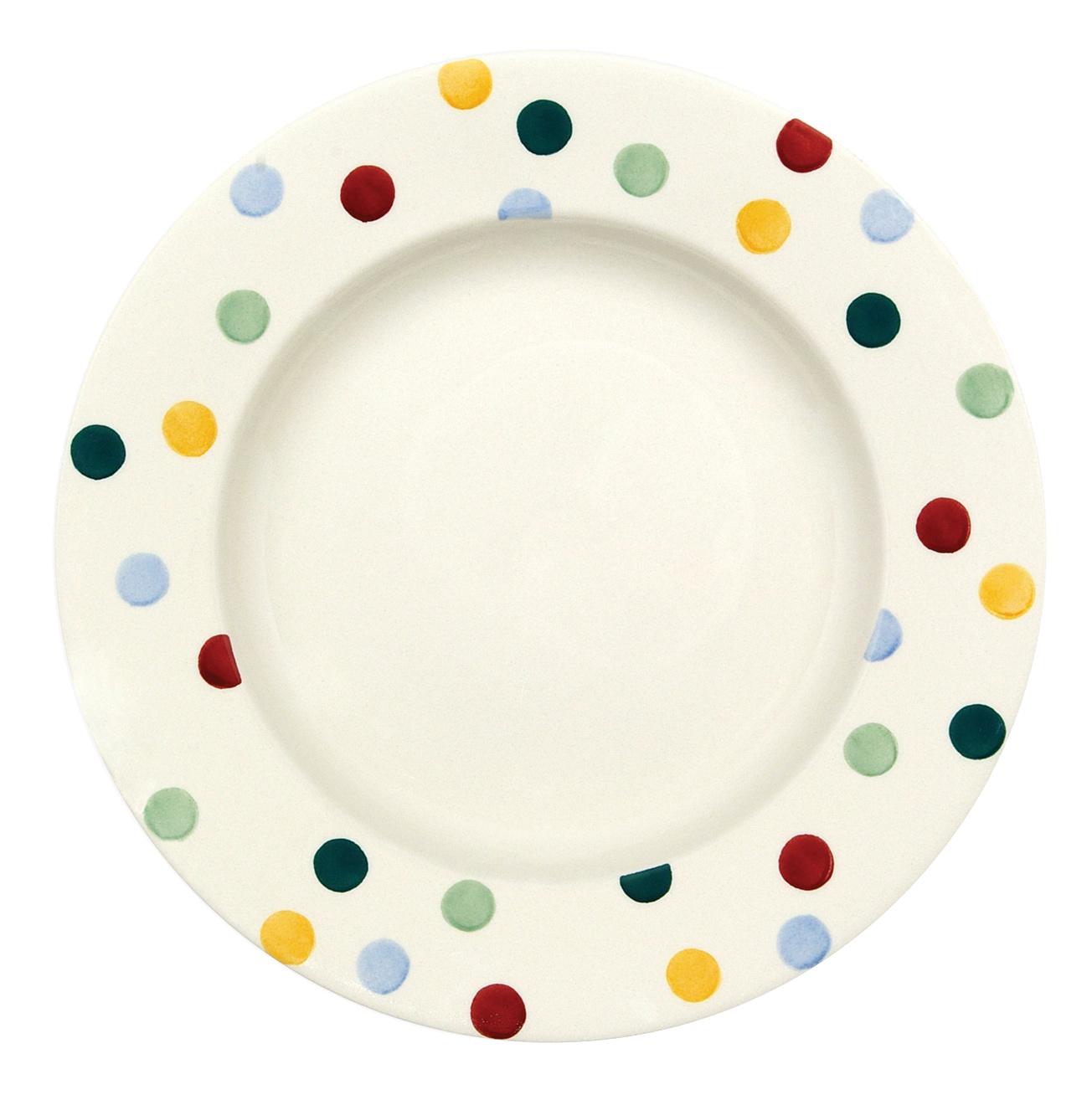 Dinner Plate - Polka Dot-1