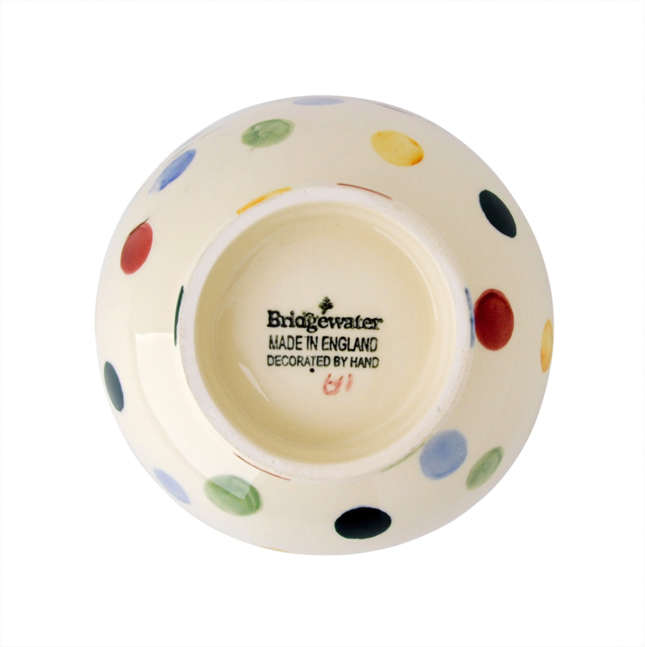 French Bowl - Polka Dot-2