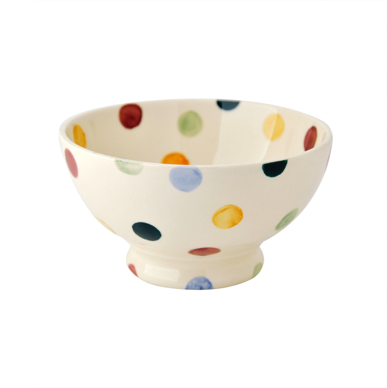 French Bowl - Polka Dot-1