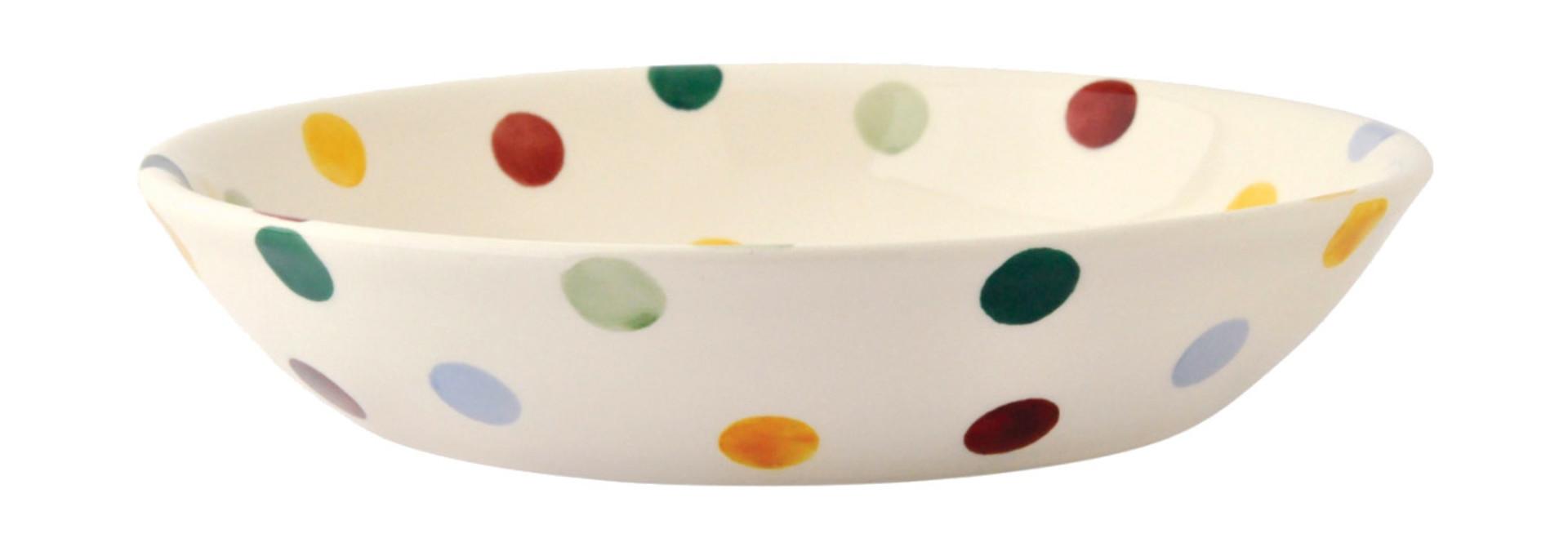 Pasta Bowl Sm- Polka Dot