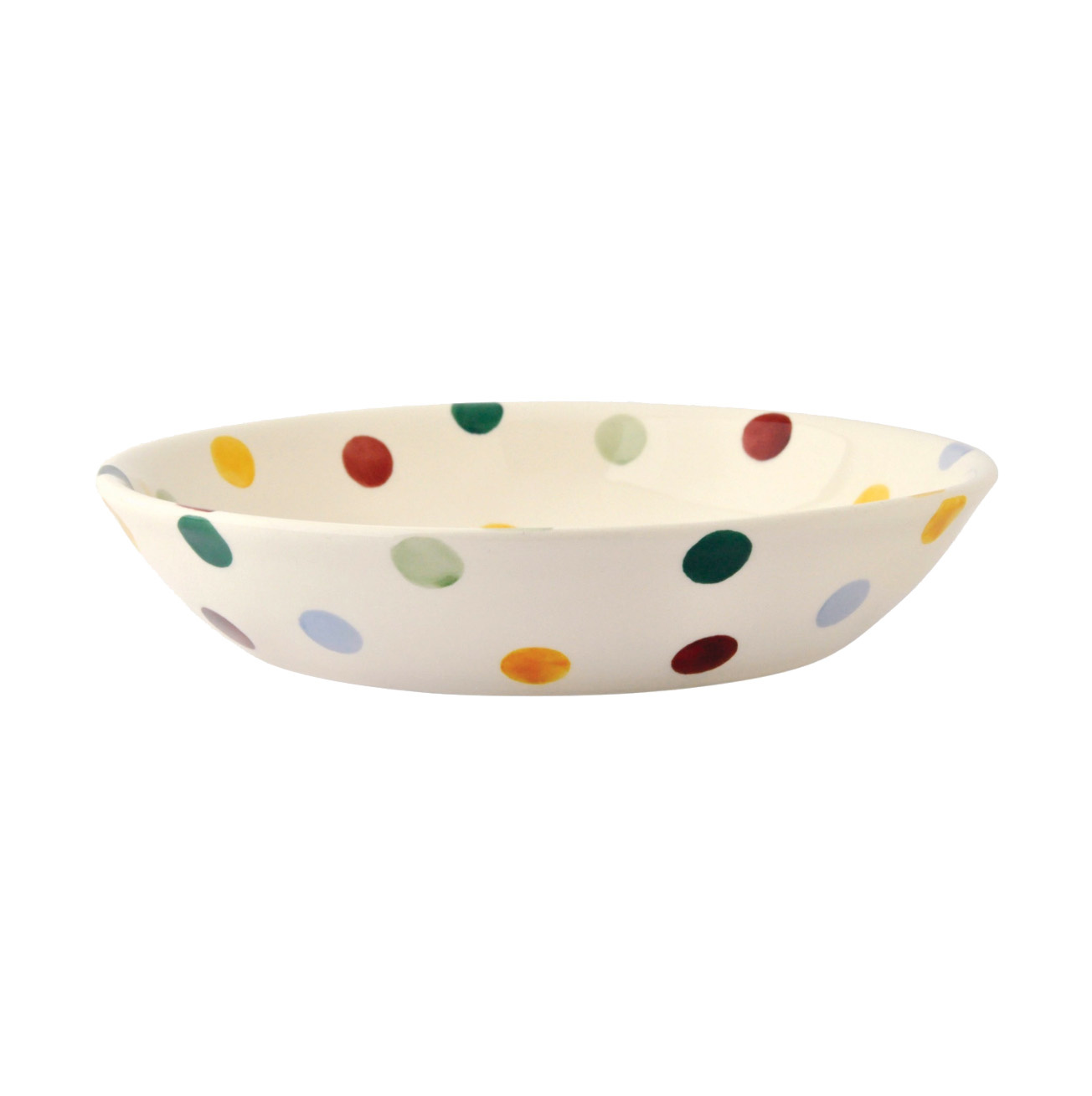 Pasta Bowl Sm- Polka Dot-1