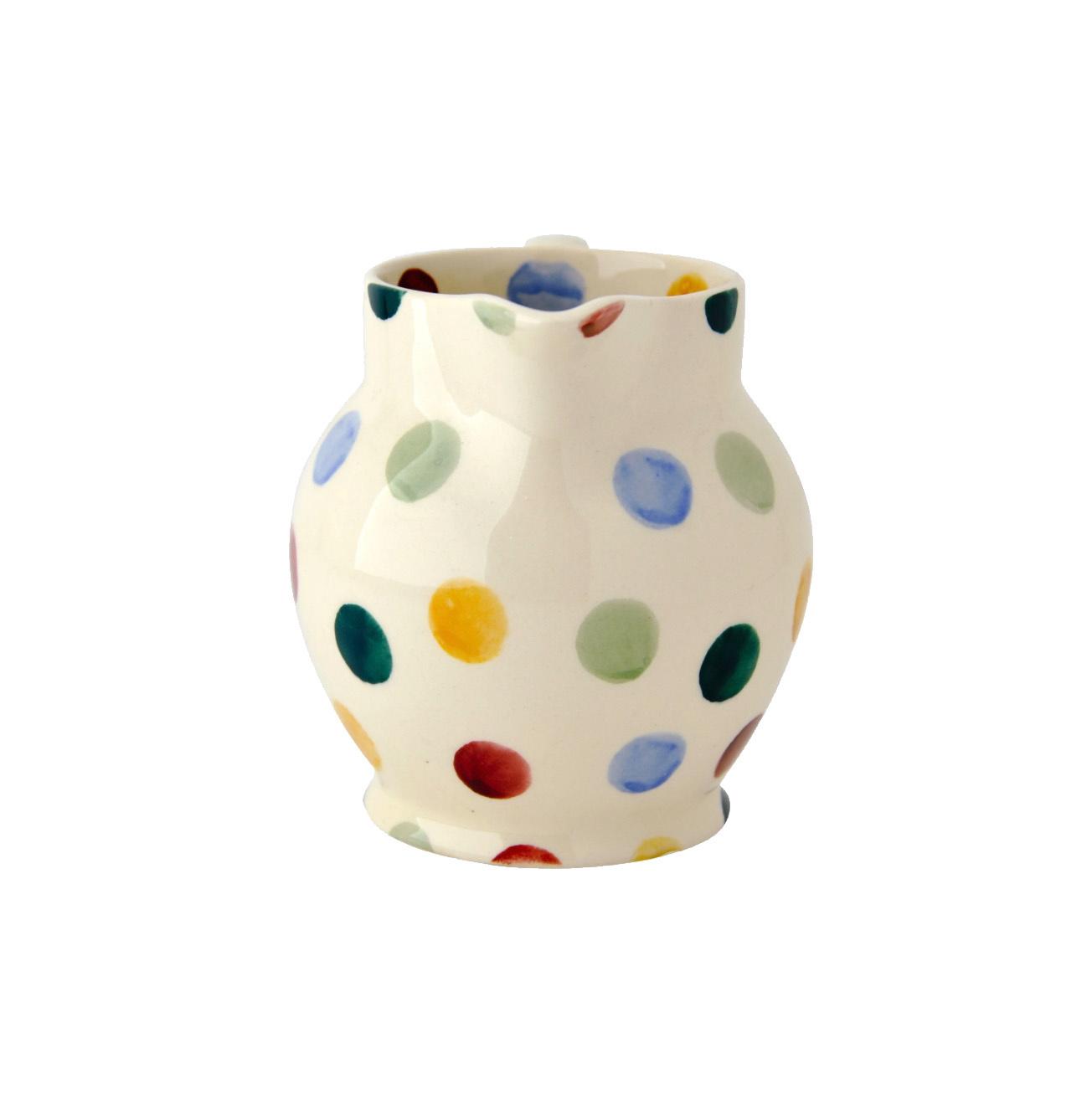 Creamer Sm - Polka Dot-2