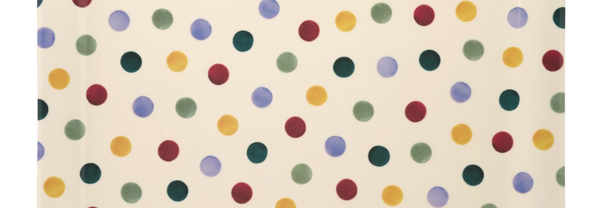 Tray Lg - Polka Dot