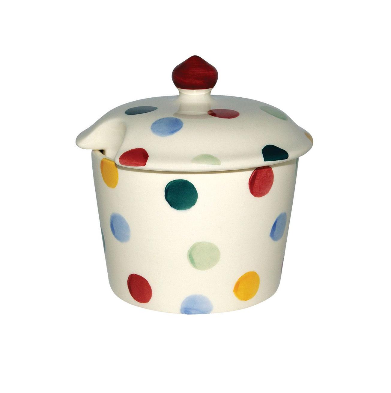 Sugar Pot - Polka Dot-1