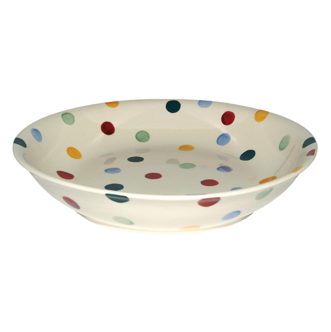 Pasta Bowl Med - Polka Dot-1