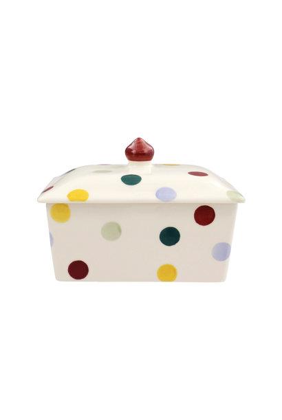 Butter Dish - Polka Dot
