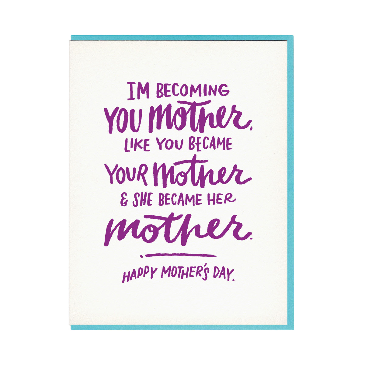 Happy Mother's Day - Im Becoming...-1