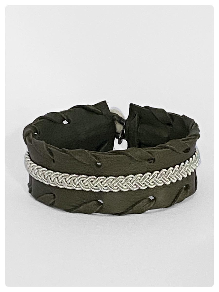 Sami Bracelet Gyrid Olive-1