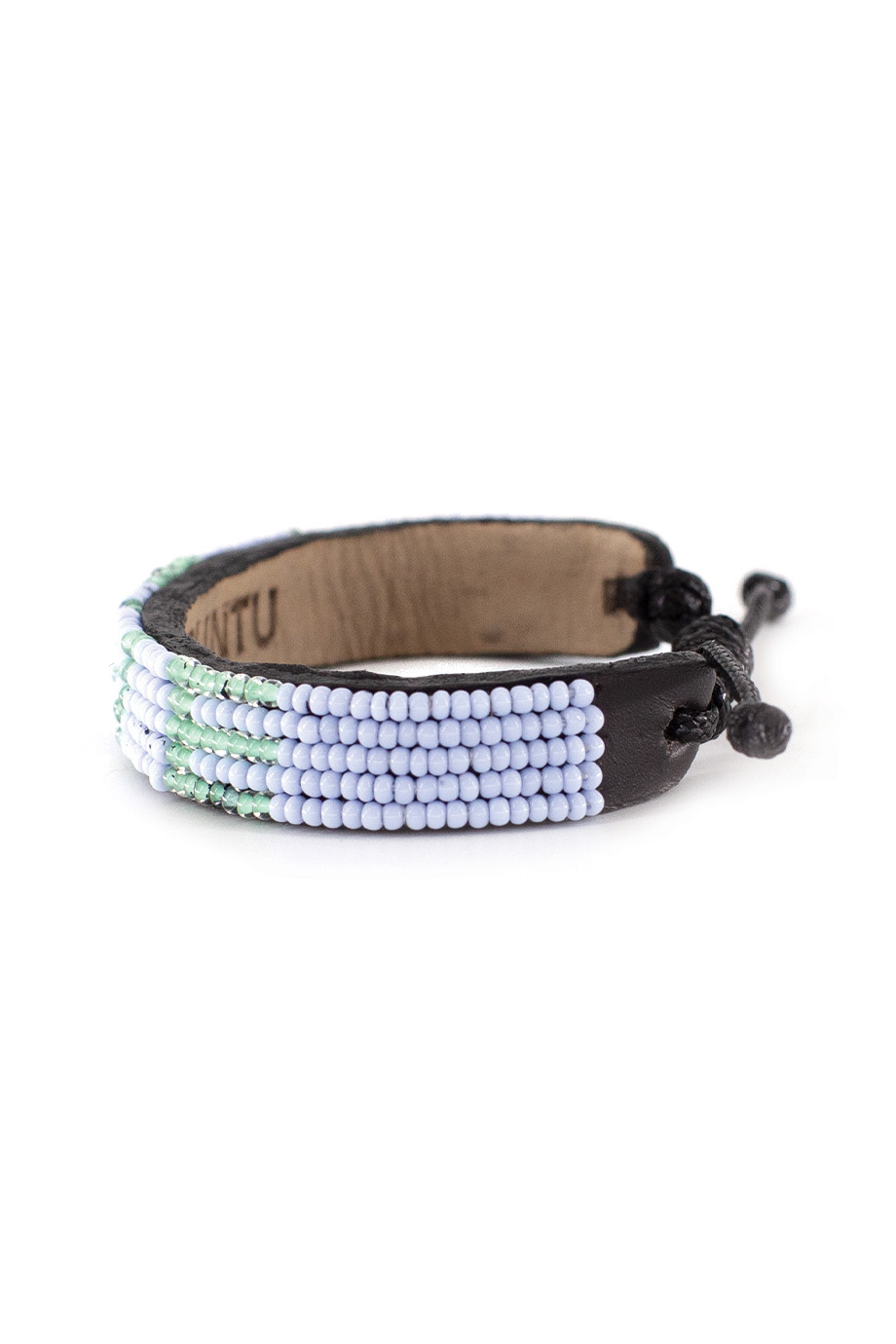 5 row LOVE Bracelet PaleBlue/Turquoise-2