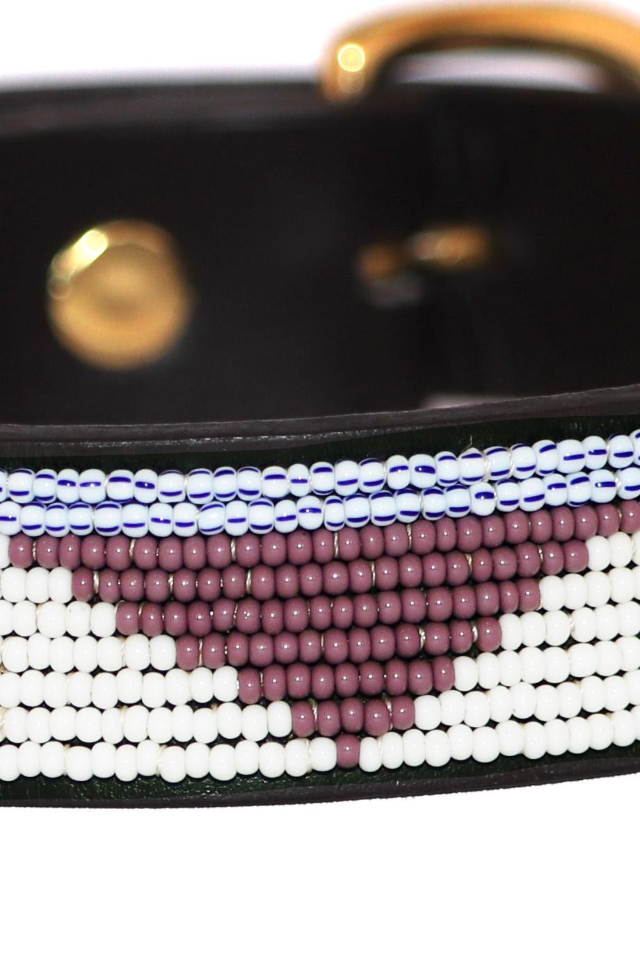 Pet Collar Summer Lavender Large-2