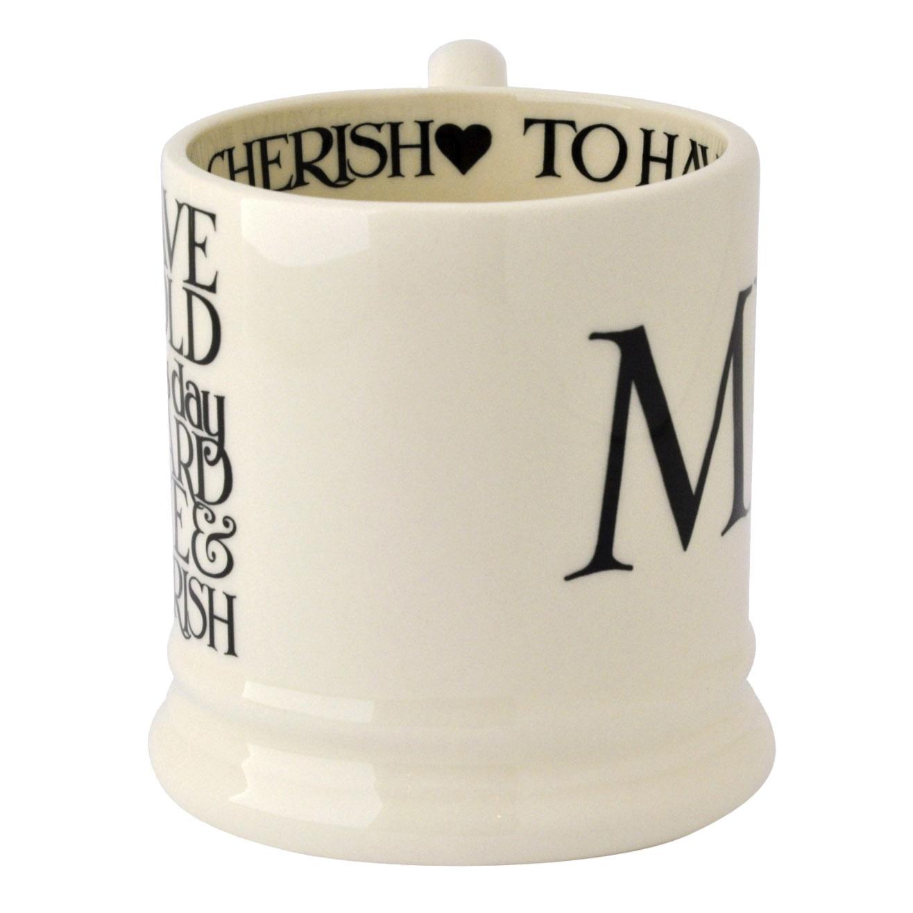 Mr & Mrs Set - 2 1/2 Pint Mugs Box-3