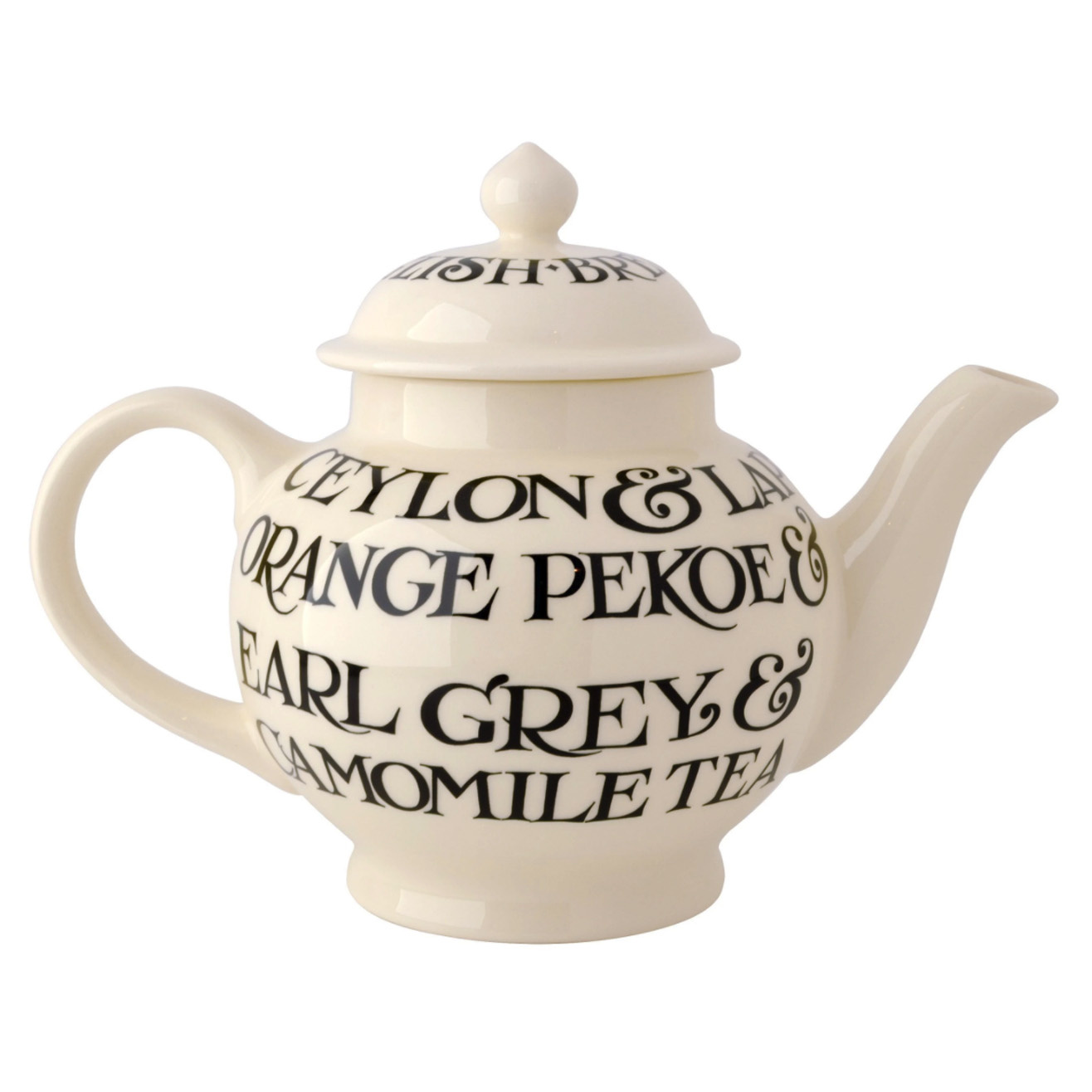 4 Mug Teapot Boxed - Black Toast-2