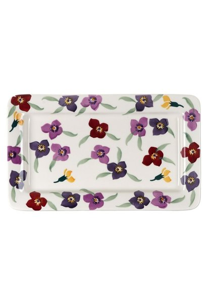 Oblong Plate - Wallflower