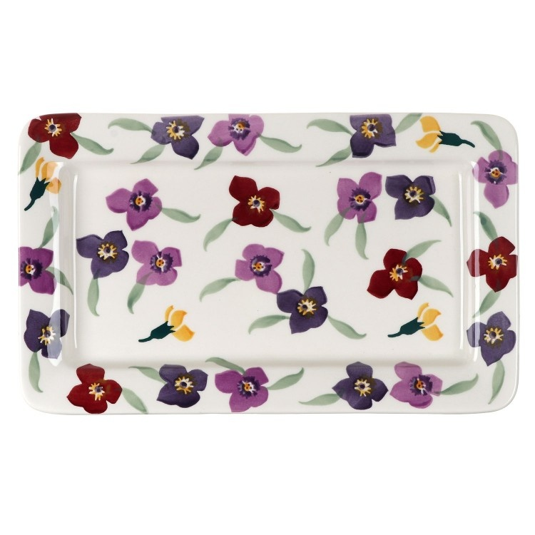 Oblong Plate - Wallflower-1