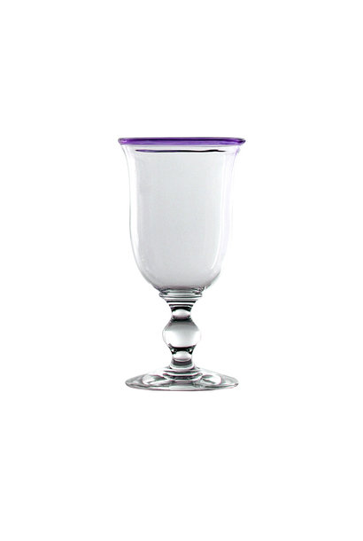 Wine Glass - Amethyst