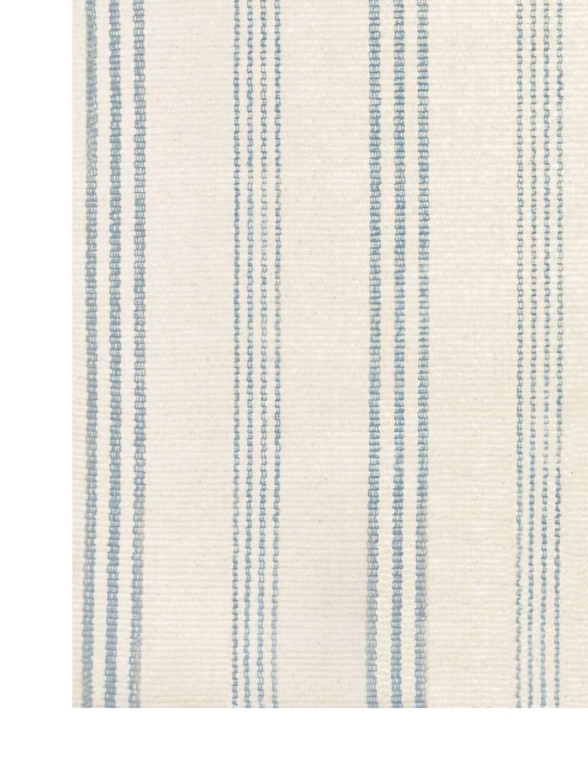 Swedish Stripe Woven Cotton Rug-3