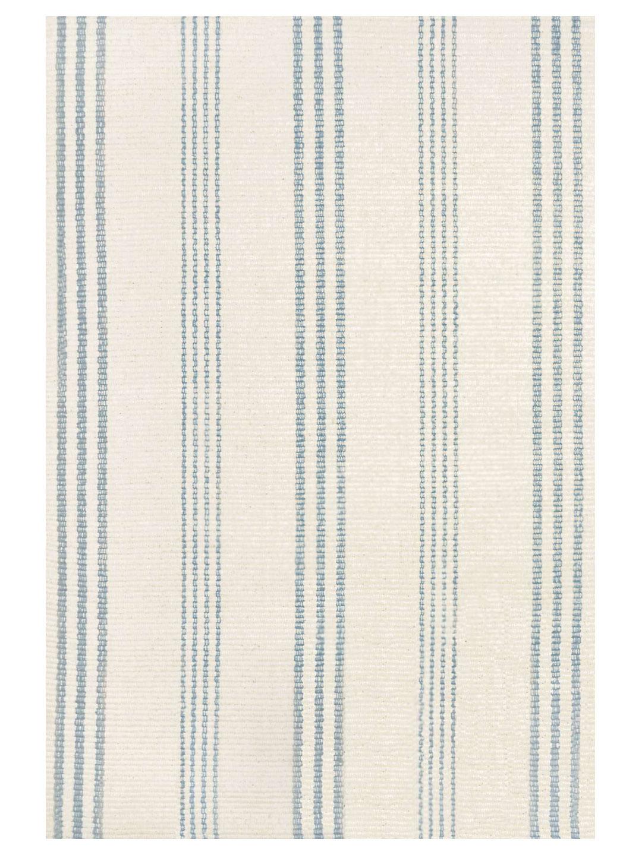 Swedish Stripe Woven Cotton Rug-1