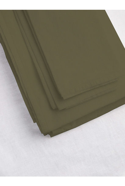 Fitted Sheet Queen - Olive