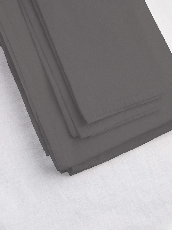 Flat Sheet Queen - Coal-1