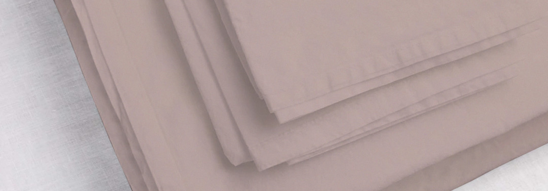 Pillowcase Sham King - Mauve