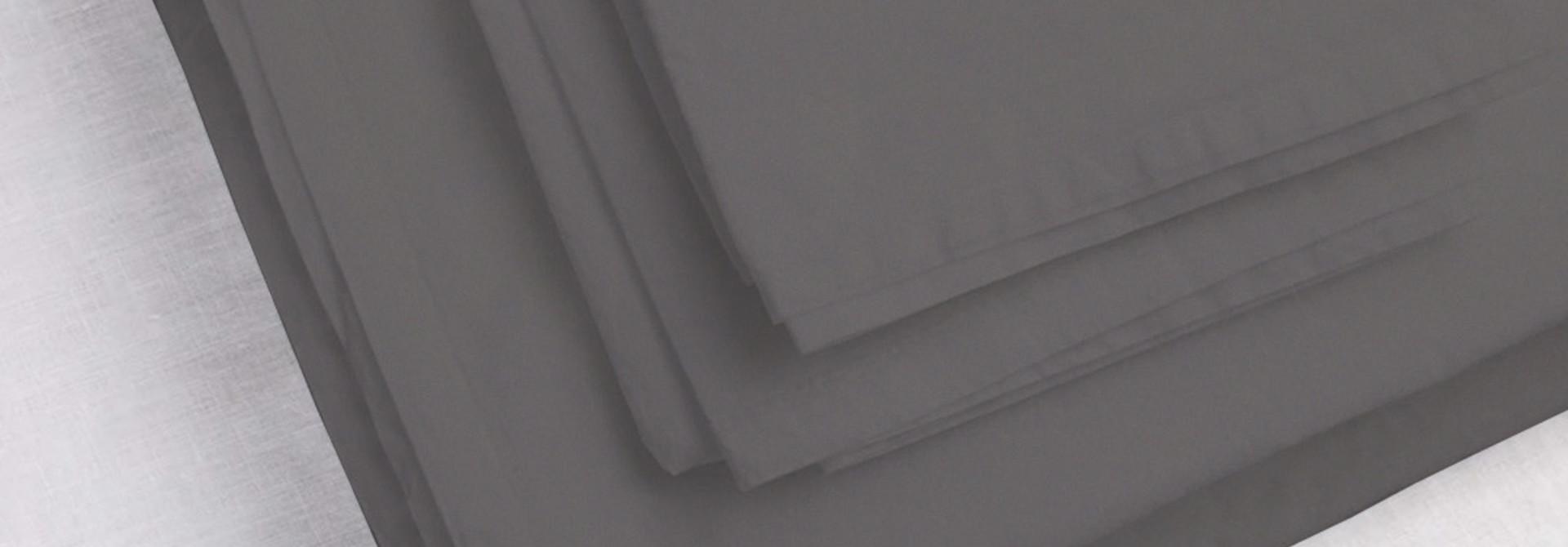 Pillowcase King - Coal - (1 P/c), (1Sham)