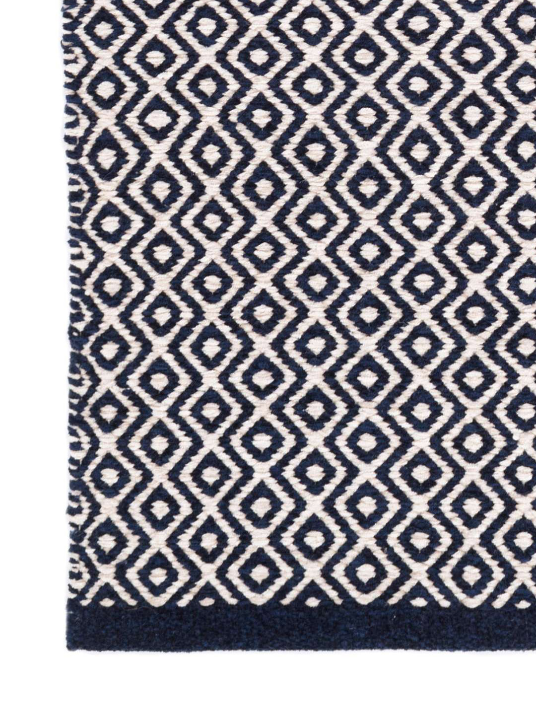 Facet Chenille Navy Indoor/Outdoor Rug-4