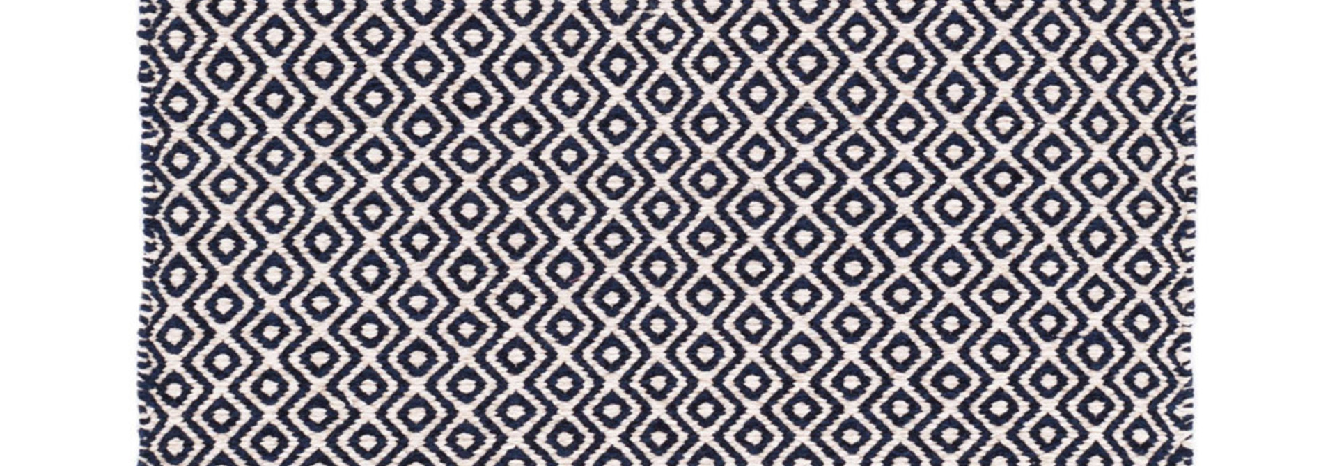 Facet Chenille Navy Indoor/Outdoor Rug