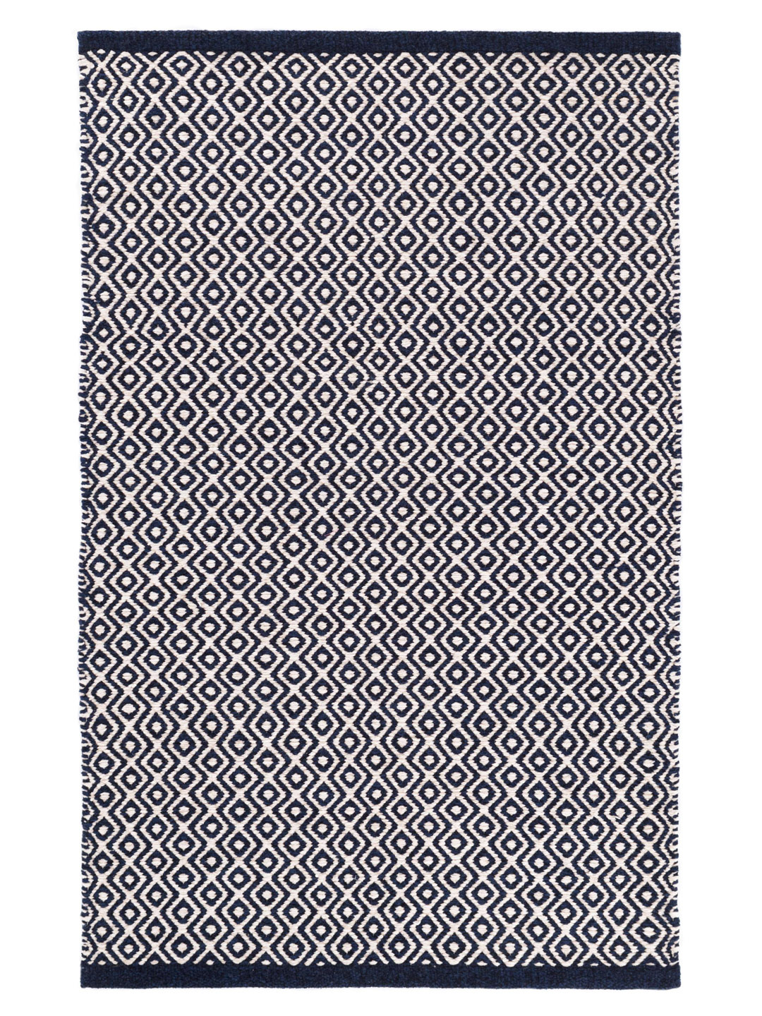 Facet Chenille Navy Indoor/Outdoor Rug-1