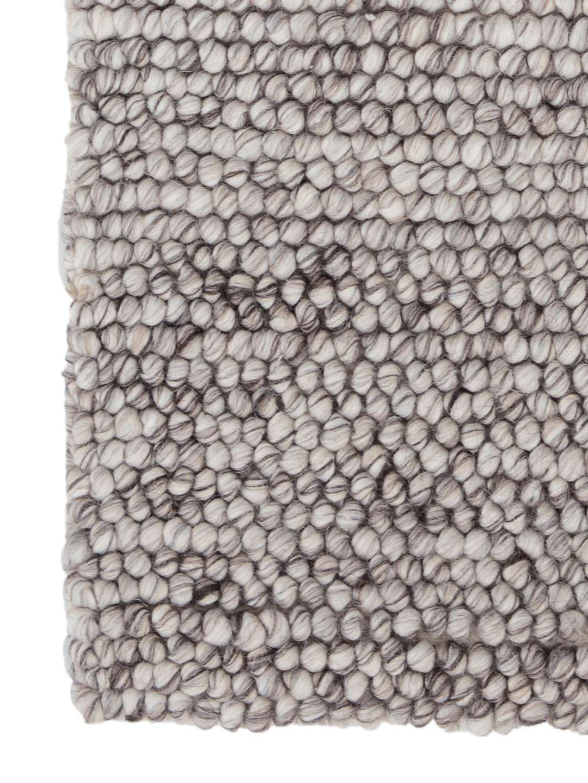 Niels Grey Woven Wool/Viscose Rug-3