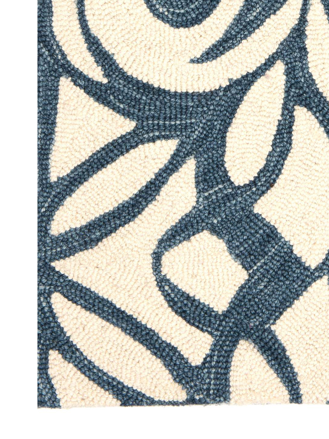 Chandelier Ink Wool Micro Hooked Rug-3