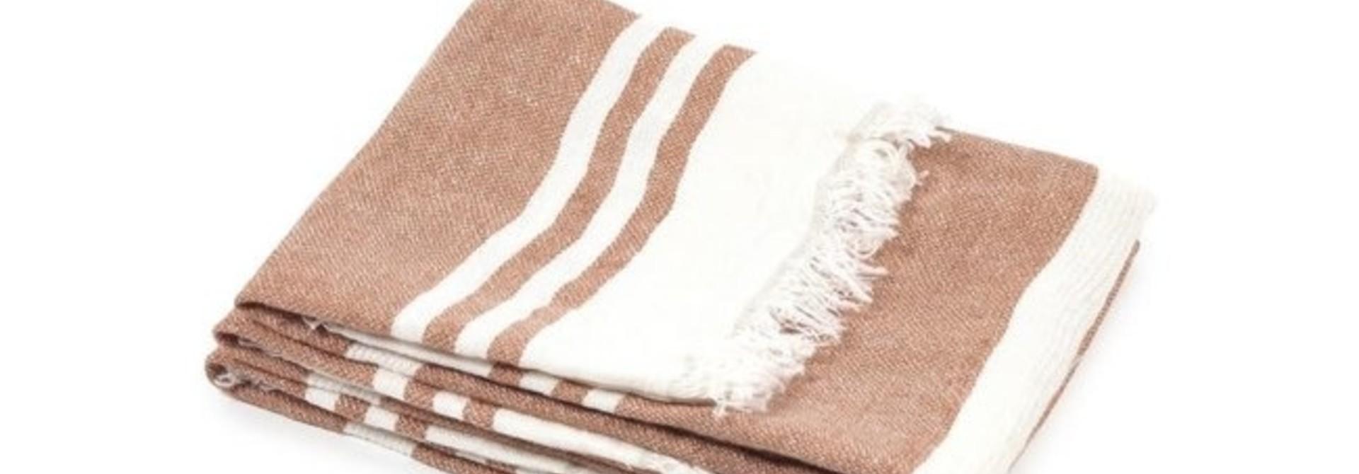 Bath Towel - Desert Stripe
