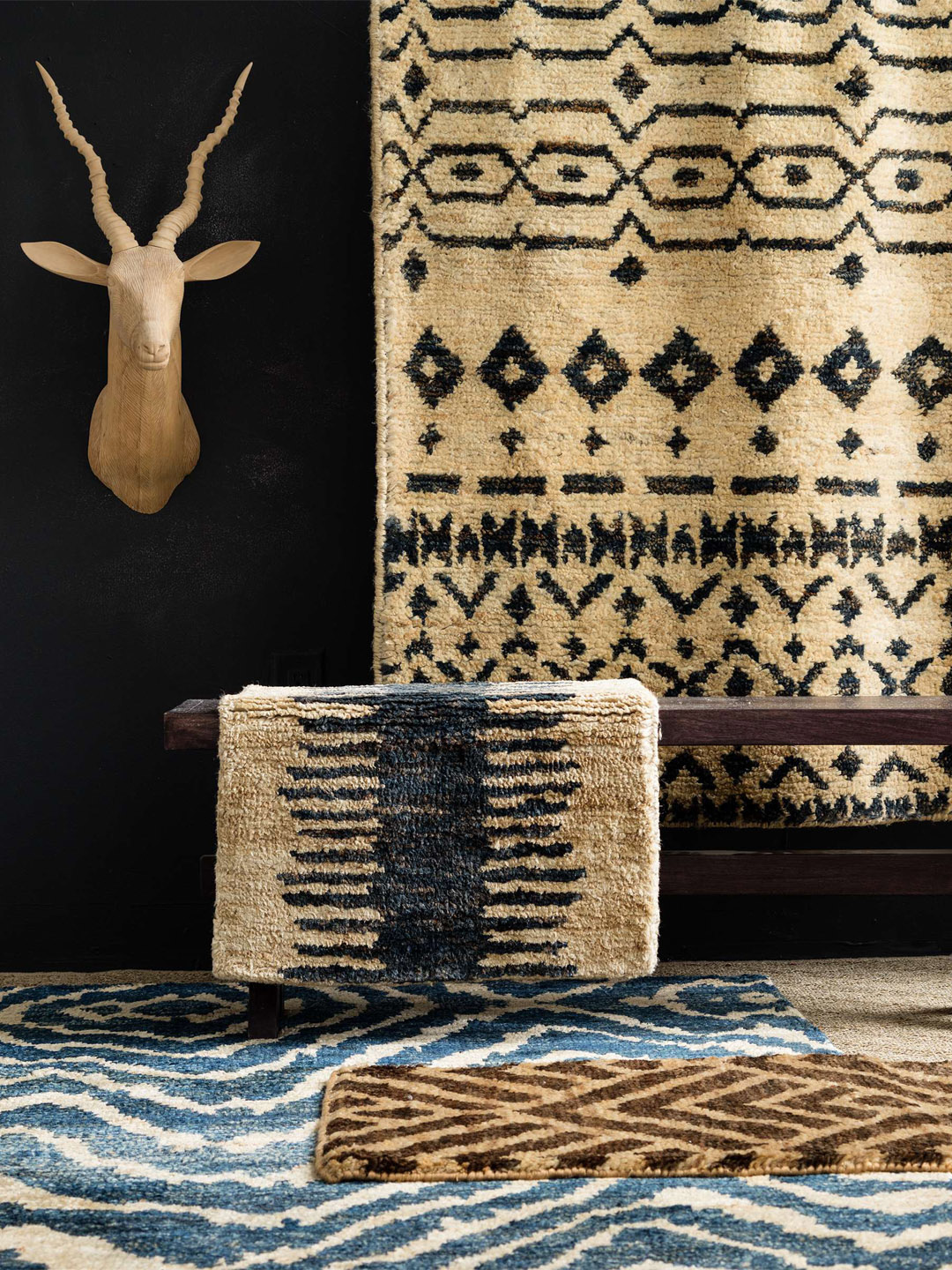 Taza Hand-Knotted Jute Rug-2
