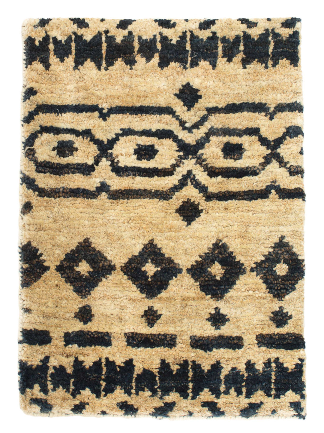 Taza Hand-Knotted Jute Rug-1