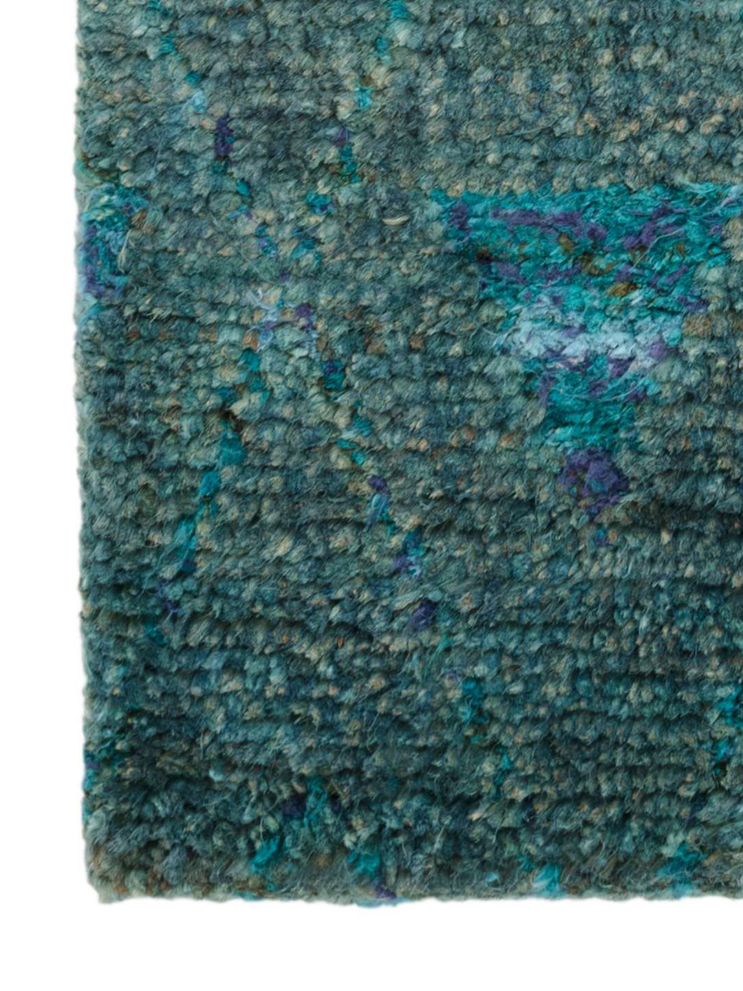 Emerald Hand-Knotted Jute Rug-3
