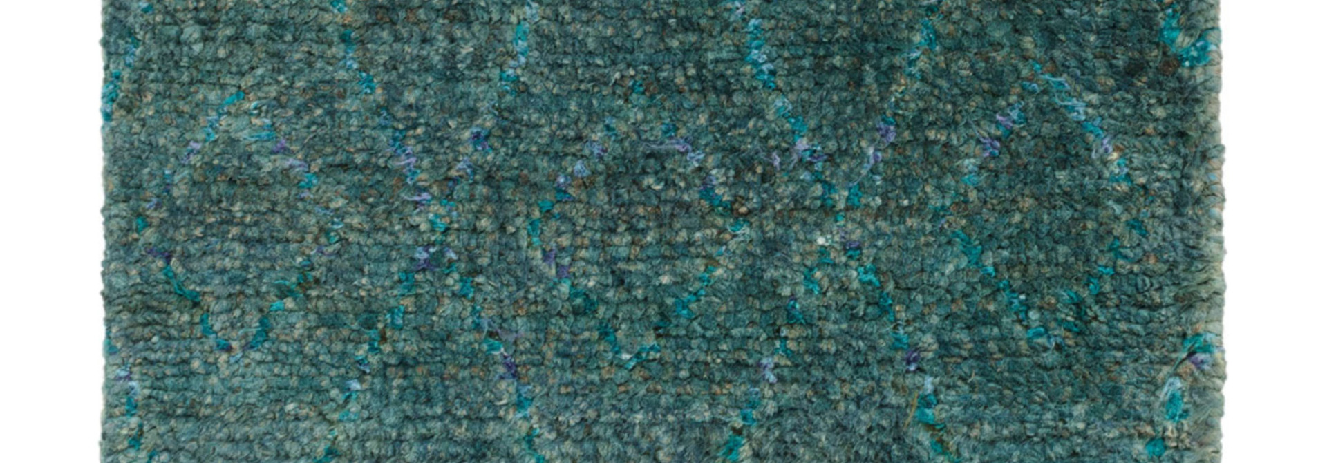 Emerald Hand-Knotted Jute Rug