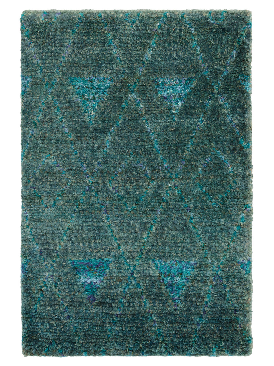 Emerald Hand-Knotted Jute Rug-1