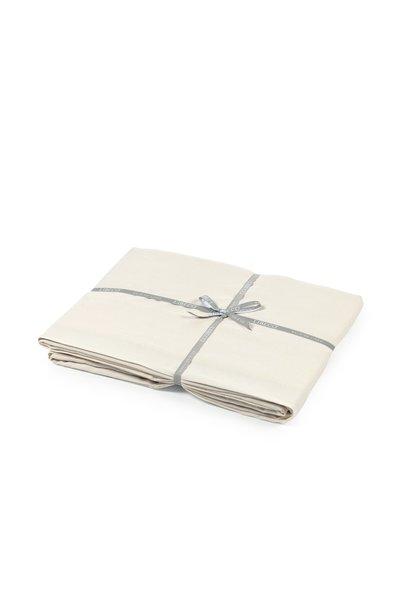 Flat Sheet Queen - Santiago - Chalk