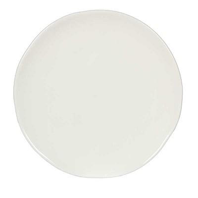 4 Dinner Plates, 2 Salad Plates - White-1